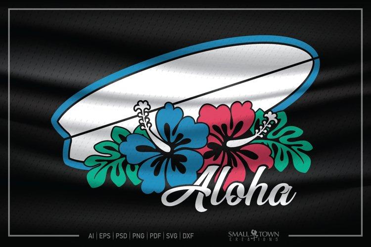Hibiscus, Hawaiian Flower, Summer, PRINT, CUT & DESIGN