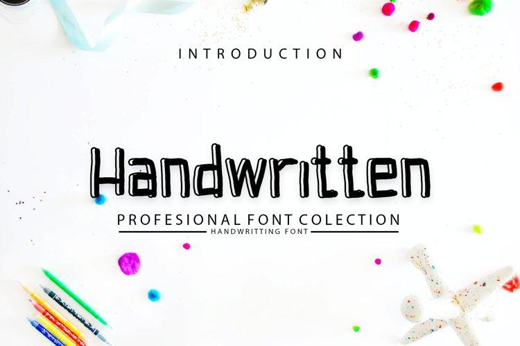 Handwritten example image 1