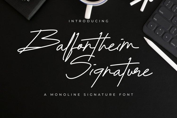Balfontheim Signature example image 1