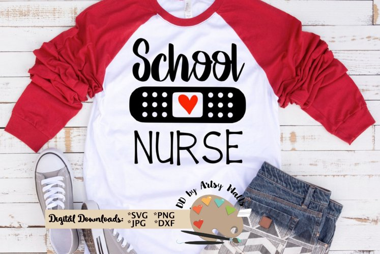 school Nurse svg cut file Nurse quote svg Nurse appreciation