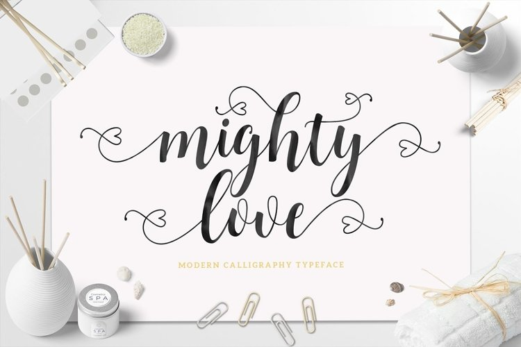 Mighty Love Script example image 1