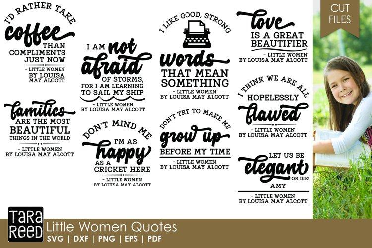 Little Women Quotes Bundle example image 1