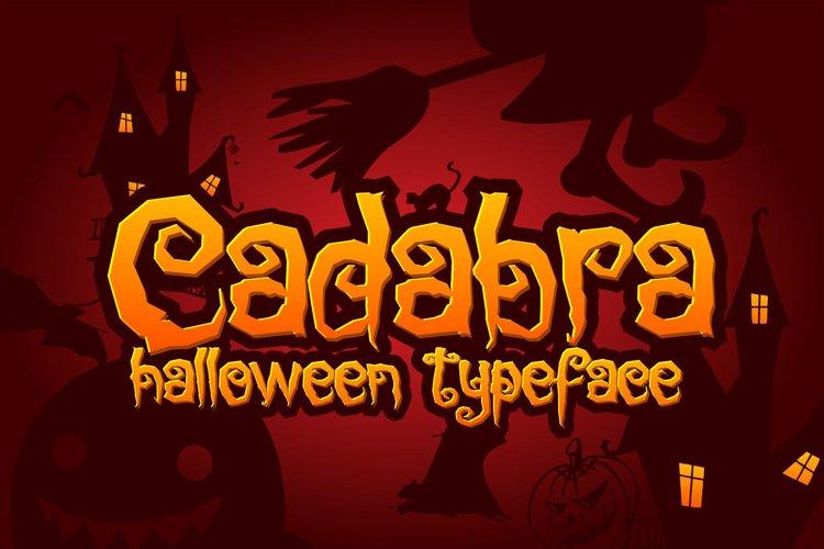 Cadabra   Halloween Typeface example image 1