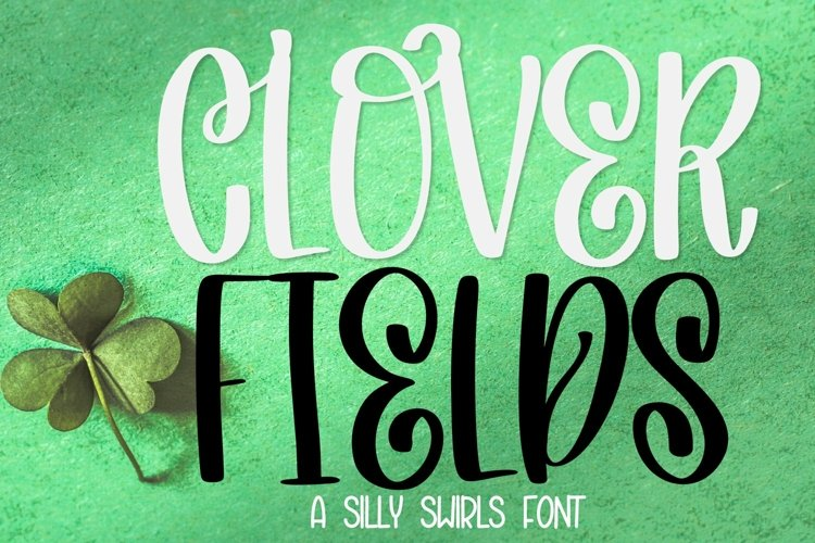 Web Font Clover Fields - A Lovely Hand Written Font example image 1