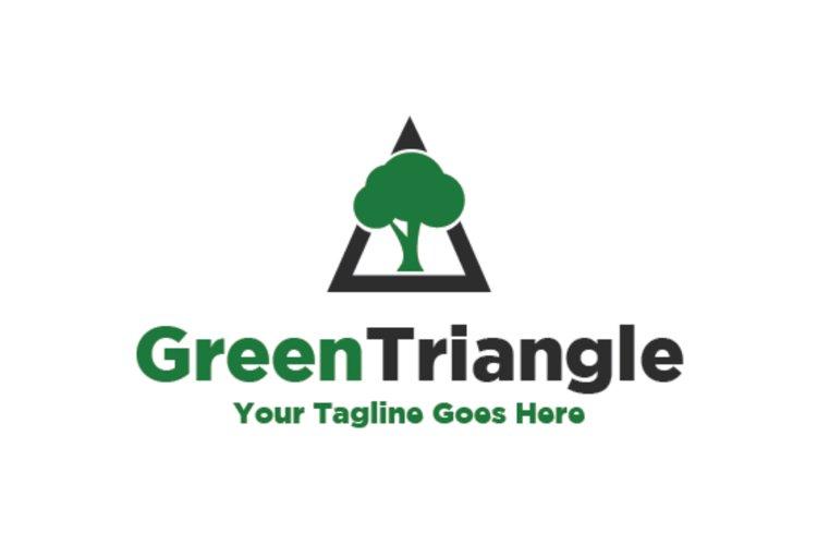 Green Triangle Logo example image 1