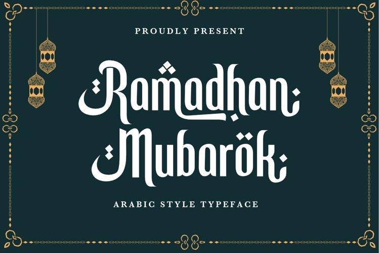 Ramadhan Mubarok example image 1