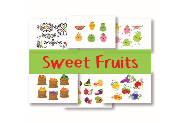 Sweet Fruits Art Pack