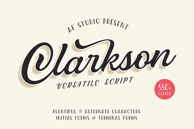 Clarkson Script example image 1
