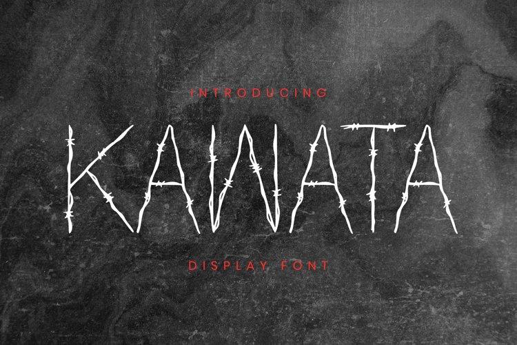 Kawata Font example image 1
