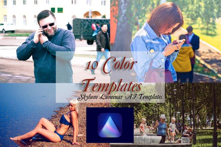 10 Skylum Luminar AI Color Templates