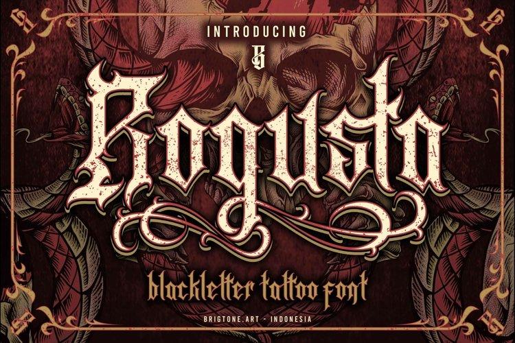 Rogusta | Blackletter