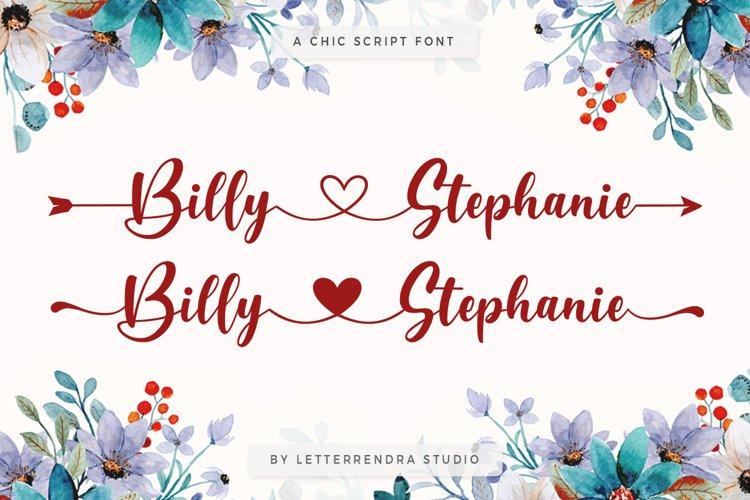 Billy Stephanie