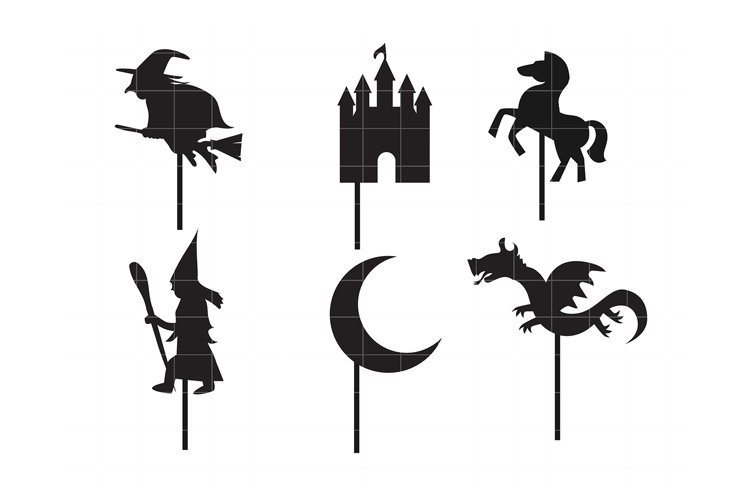Fairytale Shadow Puppet example image 1