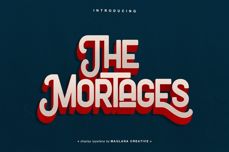 The Mortages - Display Font example image 1