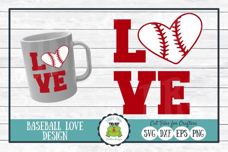 Download Baseball Love Svg Cut File For Crafters 189885 Cut Files Design Bundles