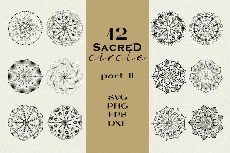 Sacred Circle geometry II