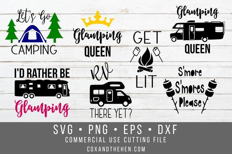 Camping SVG Bundle example image 1