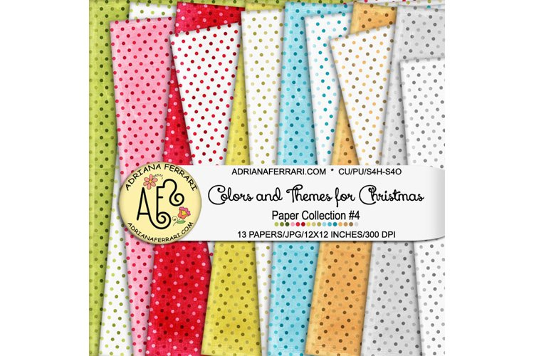 Colors and Themes for Christmas Papers 4 example image 1