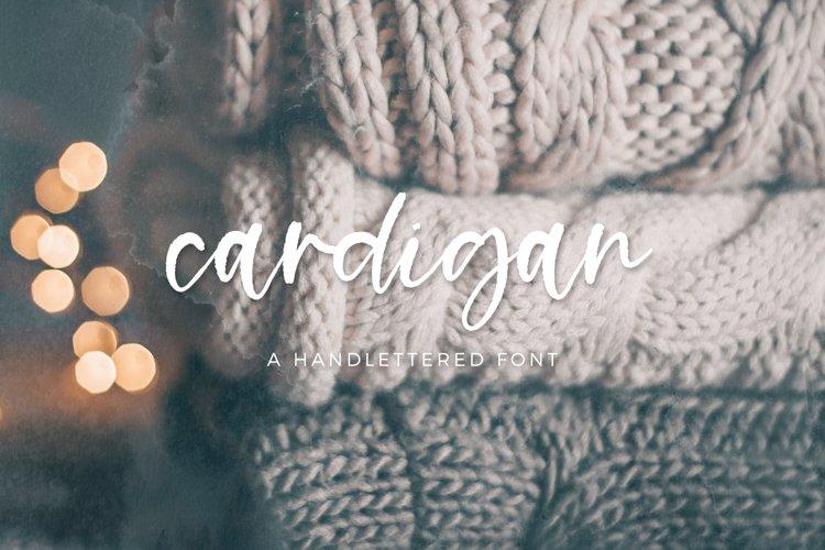 Cardigan Script example image 1