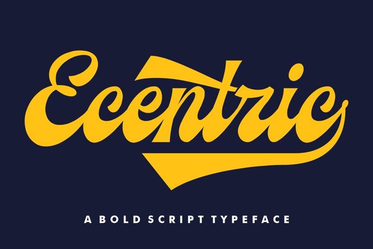 Ecentric | Vintage Script example image 1