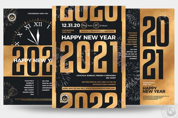 New Year Flyer Bundle V3
