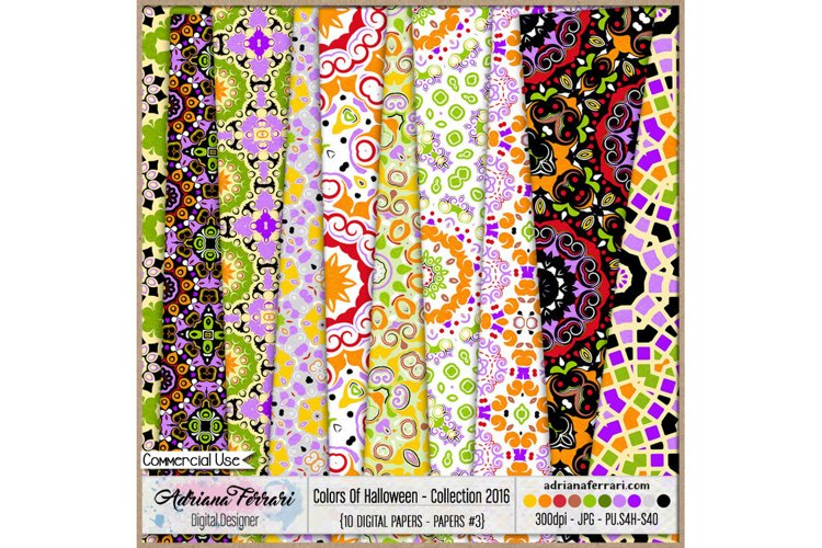 Colors Of Halloween - Collection 2016 - Paper 3 example image 1