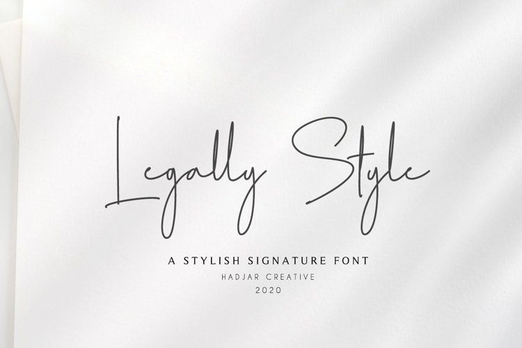 Legally Style example image 1
