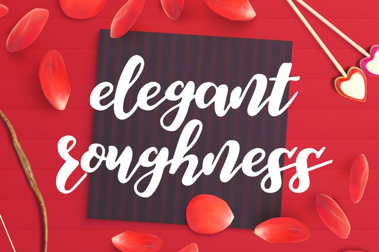Elegant Roughness Font example image 1