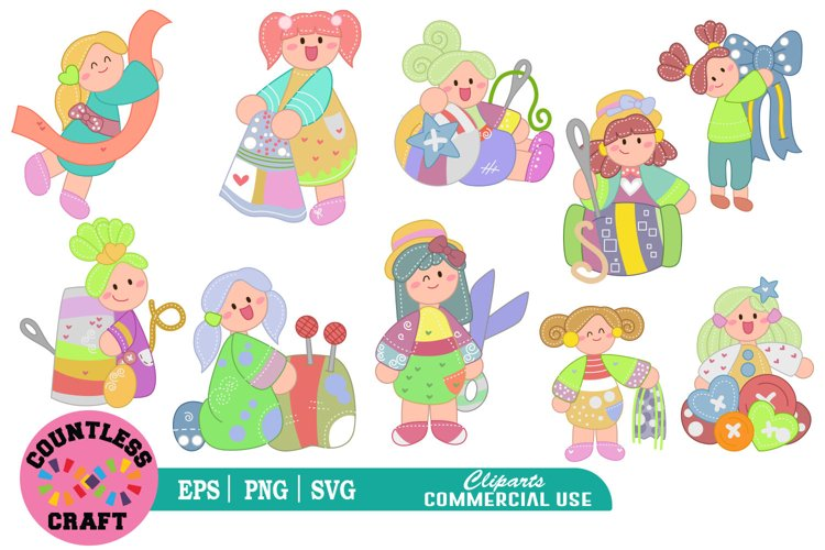 My cute little Tailor clipart, Babies Clipart, Tailor example image 1
