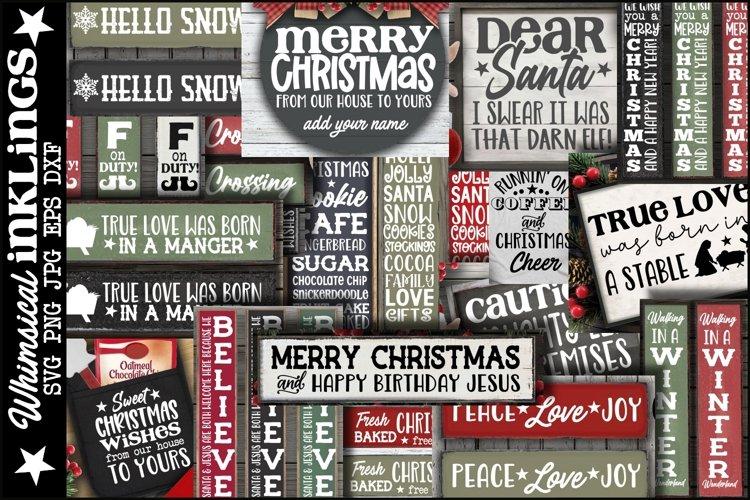 Happy Christmas Volume 2 Bundle-25 Designs! example image 1