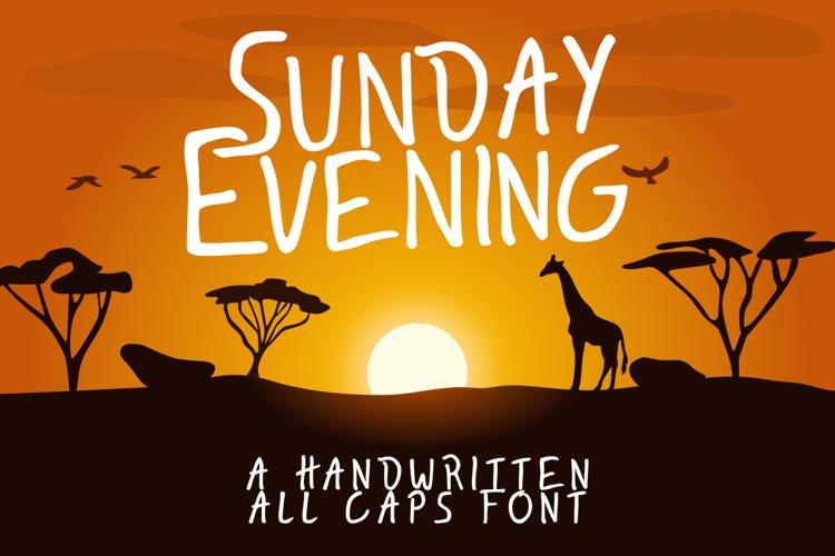 Sunday Evening example image 1