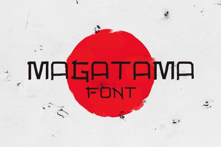 Magatama Font