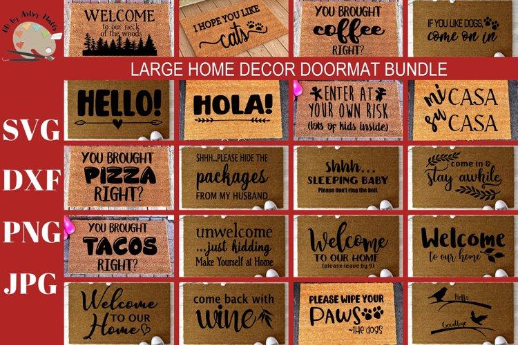 DIY Doormat Bundle Welcome Funny Doormat SVG DXF PNG JPG
