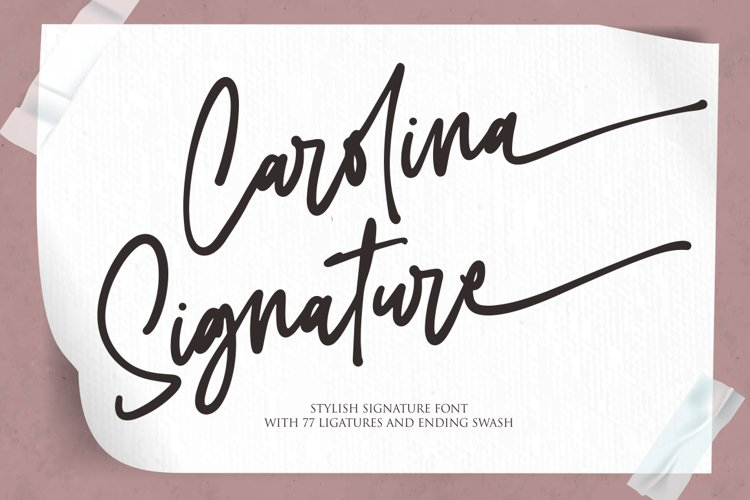 Carolina Signature example image 1