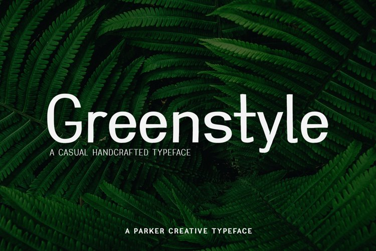 Casual Sans Serif Font | Greenstyle