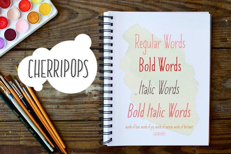 Cherripops & Cherripops Bold and Italics