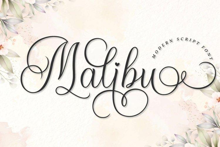 Malibu example image 1