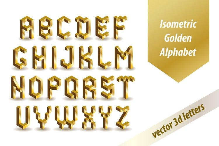 3d Golden Font example image 1