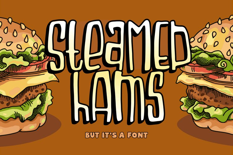 Steamed Hams Font example image 1