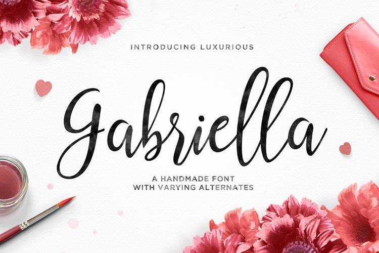 Gabriella Script example image 1