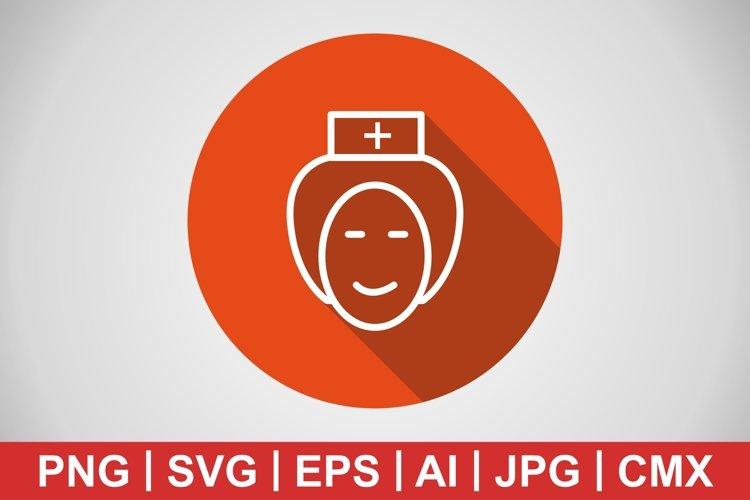 Vector Nurse Icon example image 1