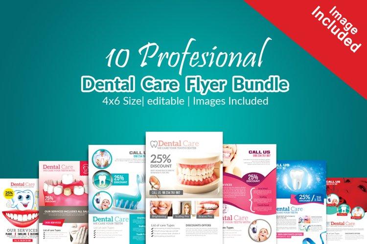 10 Medical Dental Flyers Bundle example image 1