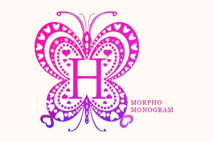 Morpho Monogram example image 1