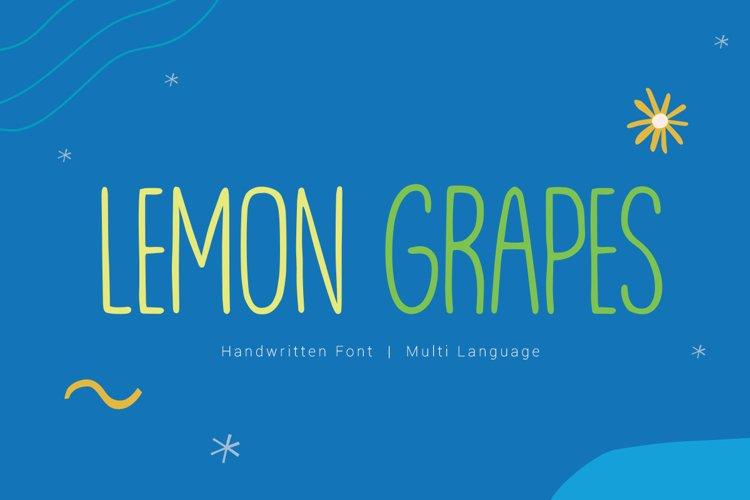 Lemon Grapes example image 1