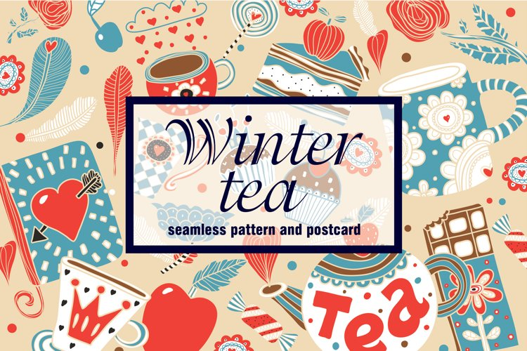 Winter tea time. example image 1