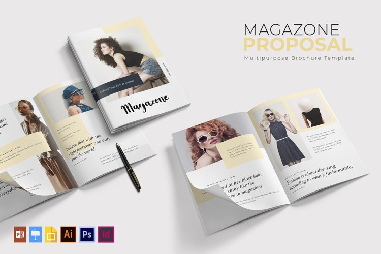 Magazone | Brochure Template example image 1