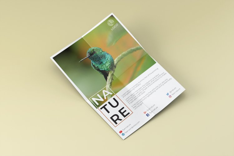 Nature flyer example image 1