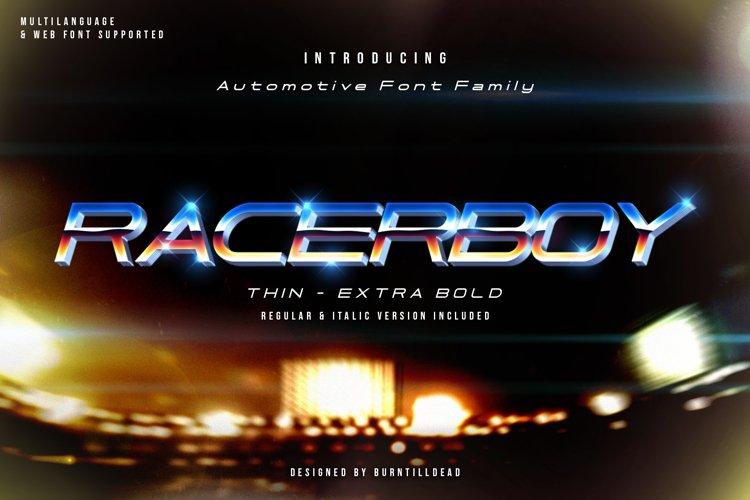 Racer Boy example image 1