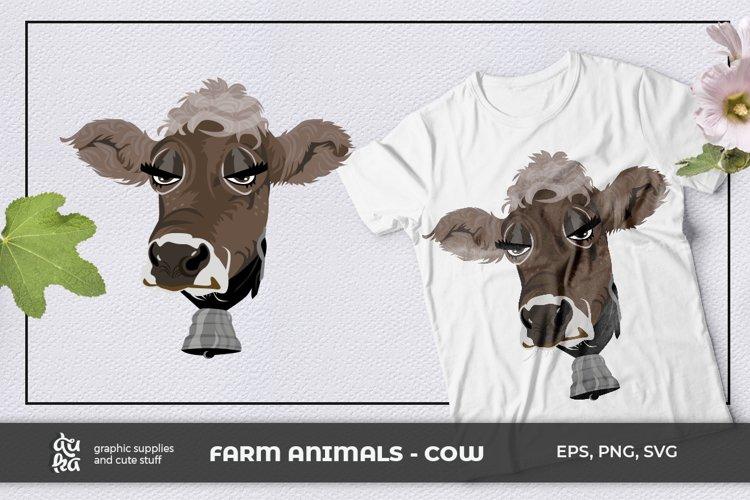 Farm Animals- Cow