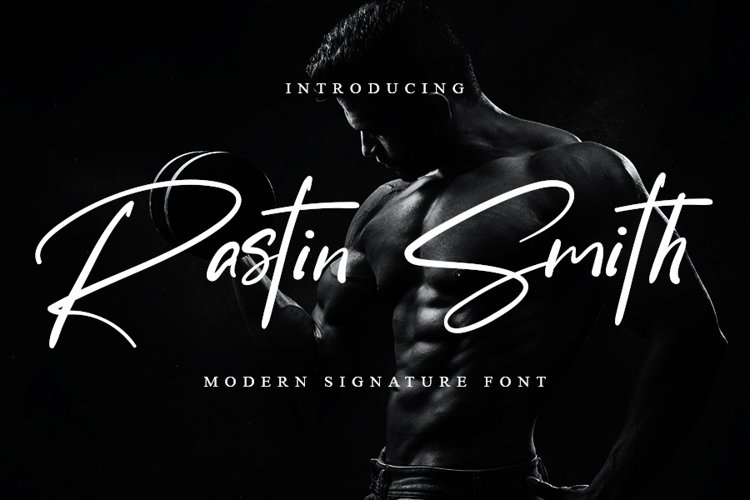 Rastin Smith | Modern Signature Font example image 1
